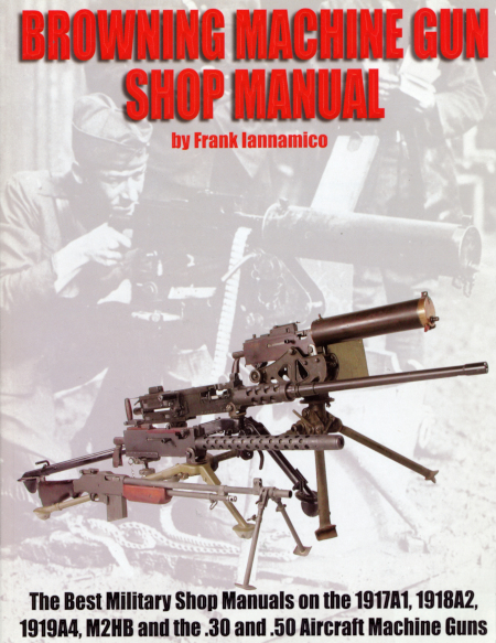 Browning MG Shop Manual Cover
