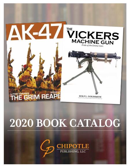 Chipotle Publishing Book Catalog image